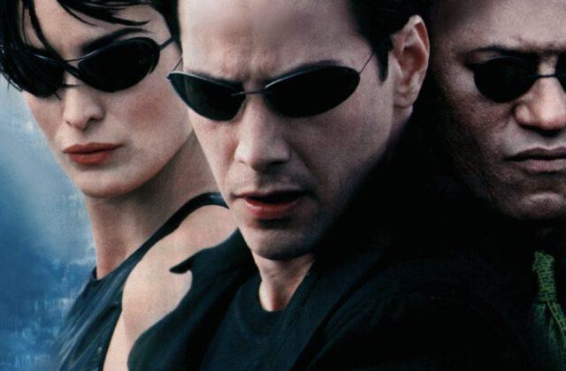 Keanu Reeves v filmu Matrica