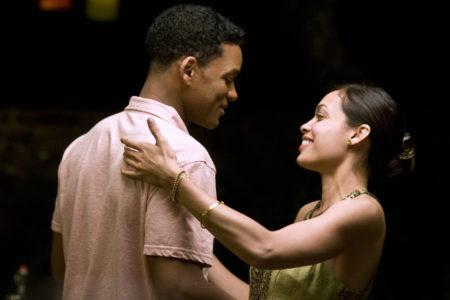Will Smith in Rosario Dawson v filmu Sedem duš (Seven Pounds).