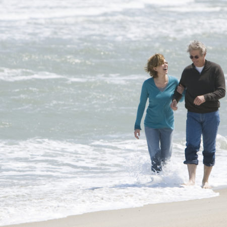 Richard Gere in Diane Lane v filmu Viharna noč (Nights in Rodanthe)