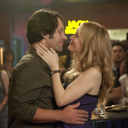 Paul Rudd in Leslie Mann v filmu To so 40 (This is 40)