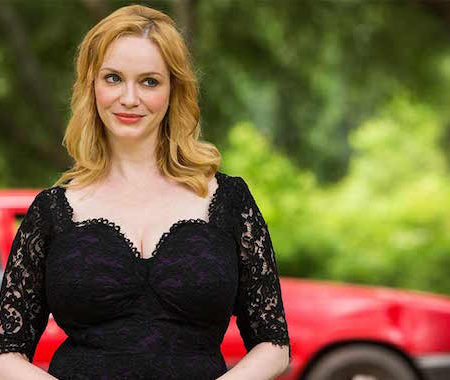 Christina Hendricks v seriji Hap in Leonard.