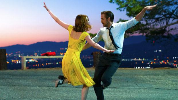 Emma stone in Ryan Gosling v Deželi La La.