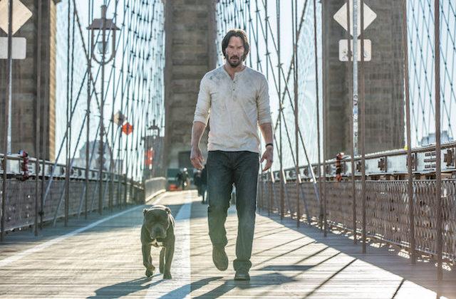 Keanu Reeves v filmu John Wick 2.