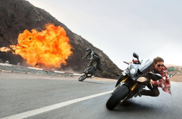 Tom Cruise in Rebeca Furgeson v Misija: Nemogoče – Odpadniška nacija
