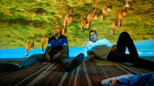 Ewan McGregor in Steven Robertson v filmu T2 Trainspotting