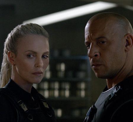 Charlize Theron in Vin Diesel v filmu Hitri in drzni 8 (Fast & Furious 8)