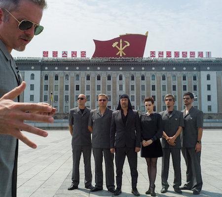 Laibach v Severni Koreji.