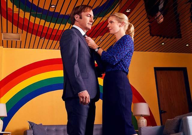 Scena iz serije Pokličite Saula.