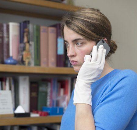 Adèle Haenel v filmu Neznanka.
