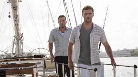 Ben Affleck in Justin Timberlake v filmu Drzna igra.