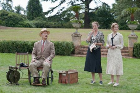 Bill Murray, Laura Liney in Olivia Williams v filmu Hyde Park on Hudson.