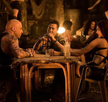 Vin Diesel in soigralci v filmu xXx:Reaktiviran.