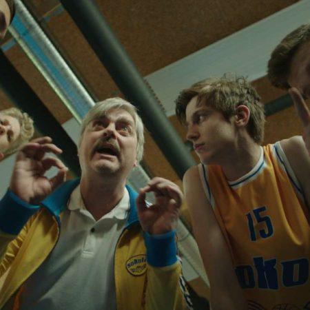 Scena iz filma košarkar naj bo.