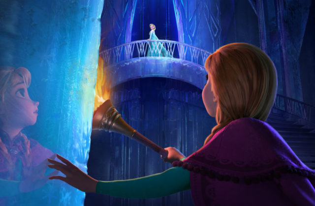 ledeno kraljestvo frozen elsa ana