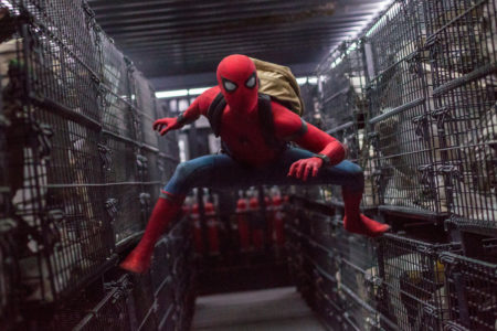 Spider-Man v filmu Spider-Man prihod domov Spider-Man homecoming