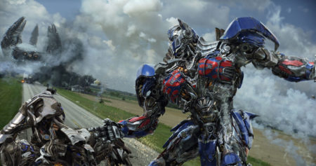 SCena iz filma TRansformerji: Doba izumrtja