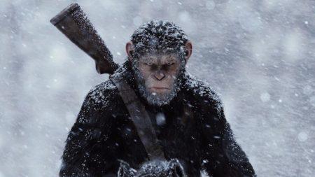 Scena iz filma Vojna za planet opic.