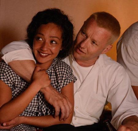 Ruth Nega in Joel Edgerton v filmu Loving.