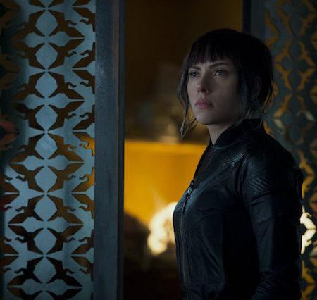 Scarlett Johansson v filmu Duh v školjki (Ghost in the Shell)