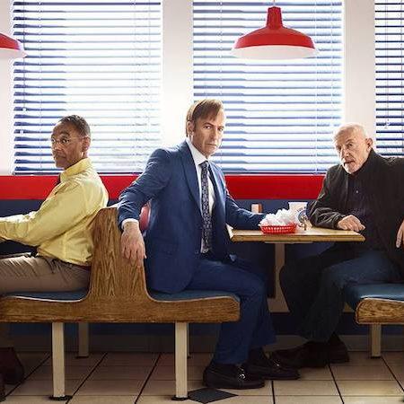 Bob Odenkirk, Jonathan Banks in Giancarlo Esposito v seriji Pokličite Saula.